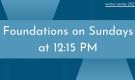 Foundations Class: Presbyterianism 101