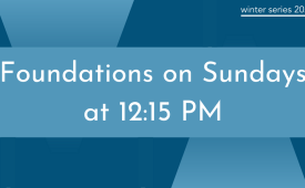 Foundations | The Reformed Tradition pt. 1